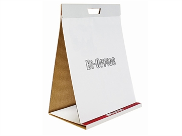 Flipoverpapir Bi-Office bordflipover 50x58,5cm 20 ark