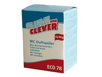 WC-hænger ECO78 4x40gr. Clean and Clever