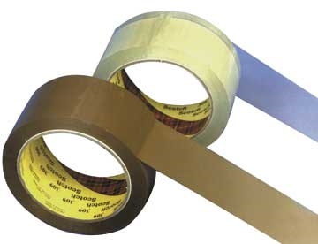 Emballagetape Klar Scotch 309 PP m/acryl klæb 38mmx66m