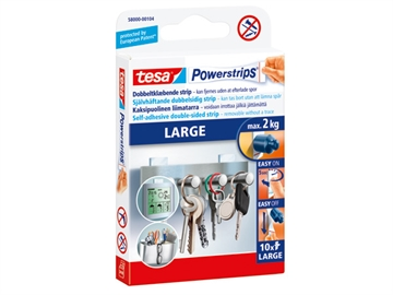 Powerstrips Tesa 58000 Large pk/10