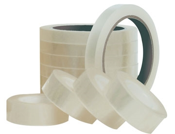 Tape Q-Connect klar 19x66m