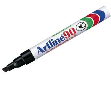 Marker Artline 90 Sort 2,5/5mm