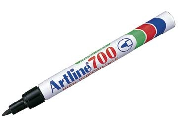 Marker Artline 700 Sort 0,7mm