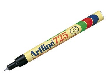 Marker Artline 725 Sort 0,4mm