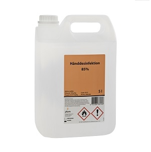 Plum Hånddesinfektion 85% Gel 5 L