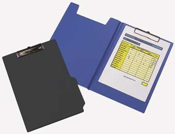 Clipboard Q-Connect A4 Sort m/forside