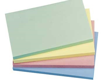 Notes Q-Connect Rainbow Pastel 76x127mm Pk/12