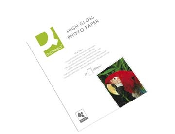 Fotopapir Q-Connect Inkjet High Gloss 10x15cm 260g pk/25