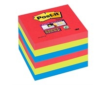 Notes Post-it Super Sticky 654 Bora Bora 76 x 76mm Pk/6