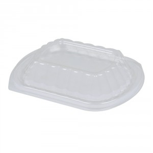Plastboks låg t/take away mini klar pk/250