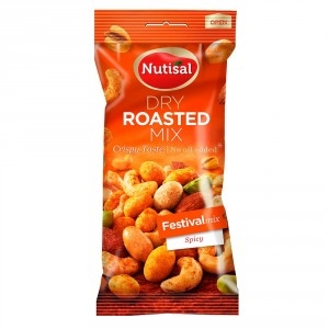 Snack Nutisal Almonds mix 60g Spicy mandelmix