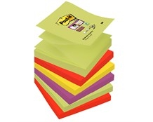 Z-Notes Post-it Super Sticky Marrakesh 76x76mm Pk/6